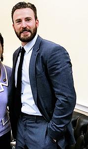 Chris Evans in Washington D.C. ~March 5, 2019
