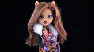 Clawdeen 늑대 Doll