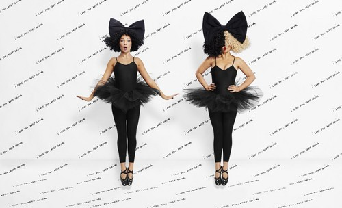 Sia fond d'écran entitled Sia and Maddie X Repetto