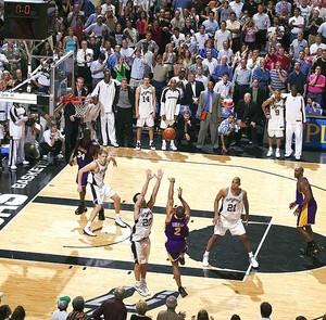 Derek Fisher's Game-Winning Shot - Game 5 2004 Western Conference Semifinals