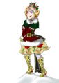Destiny Claus - Ss Gift for Wisey - ever-after-high fan art