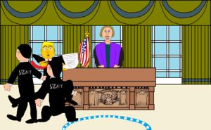 Donald Trump Gets Taken Away