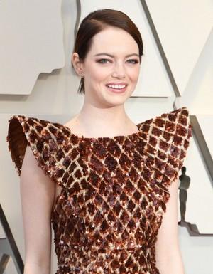 Emma Stone 2019 Oscars red carpet