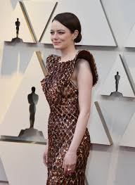 Emma Stone 2019 Oscars red carpet