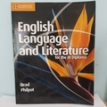 English Language And Literature