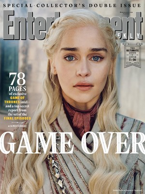 Entertainment Weekly Cover - March 2019 - Emilia Clarke as Daenerys Targaryen