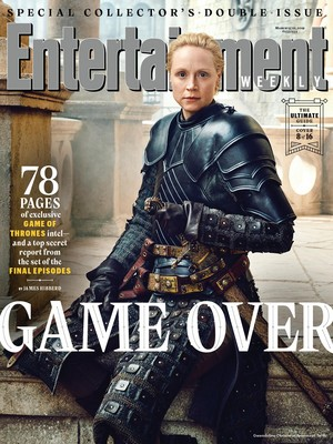 Entertainment Weekly Cover - March 2019 - Gwendoline Christie as Brienne