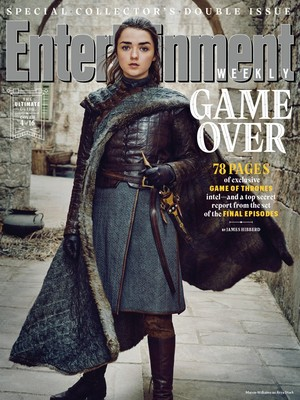 Entertainment Weekly Cover - March 2019 - Maisie Williams as Arya Stark