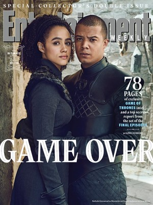 Entertainment Weekly Cover - March 2019 - Missandei and Grey Worm