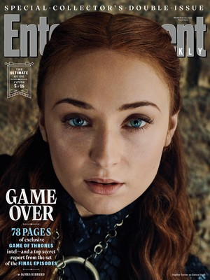 Entertainment Weekly Cover - March 2019 - Sophie Turner as Sansa Stark