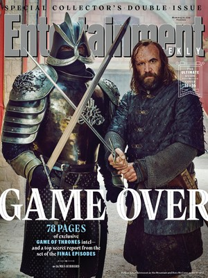 Entertainment Weekly Cover - March 2019 - The Mountain and The Hound