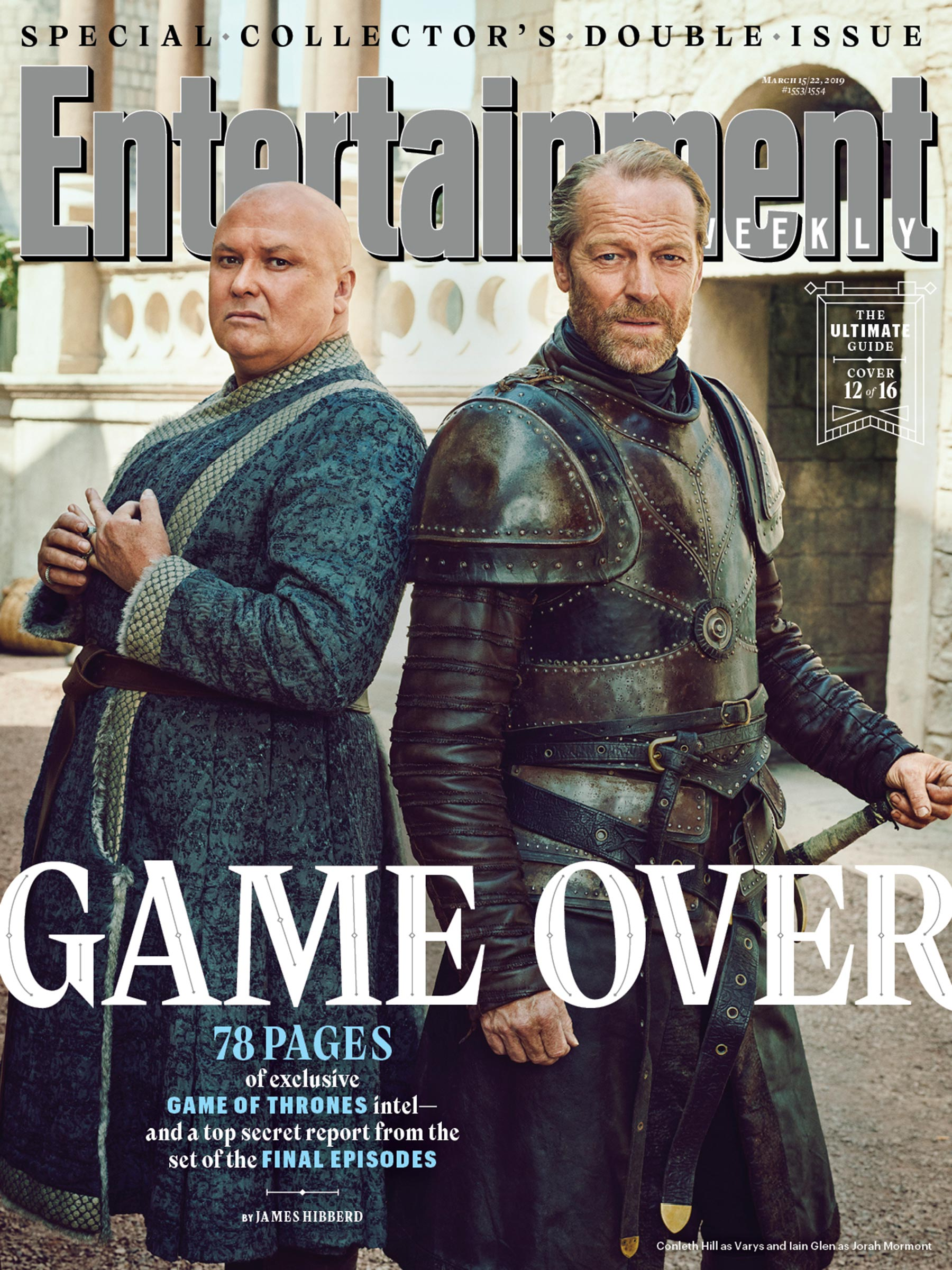 Entertainment Weekly Cover  - March 2019 - Varys and Jorah
