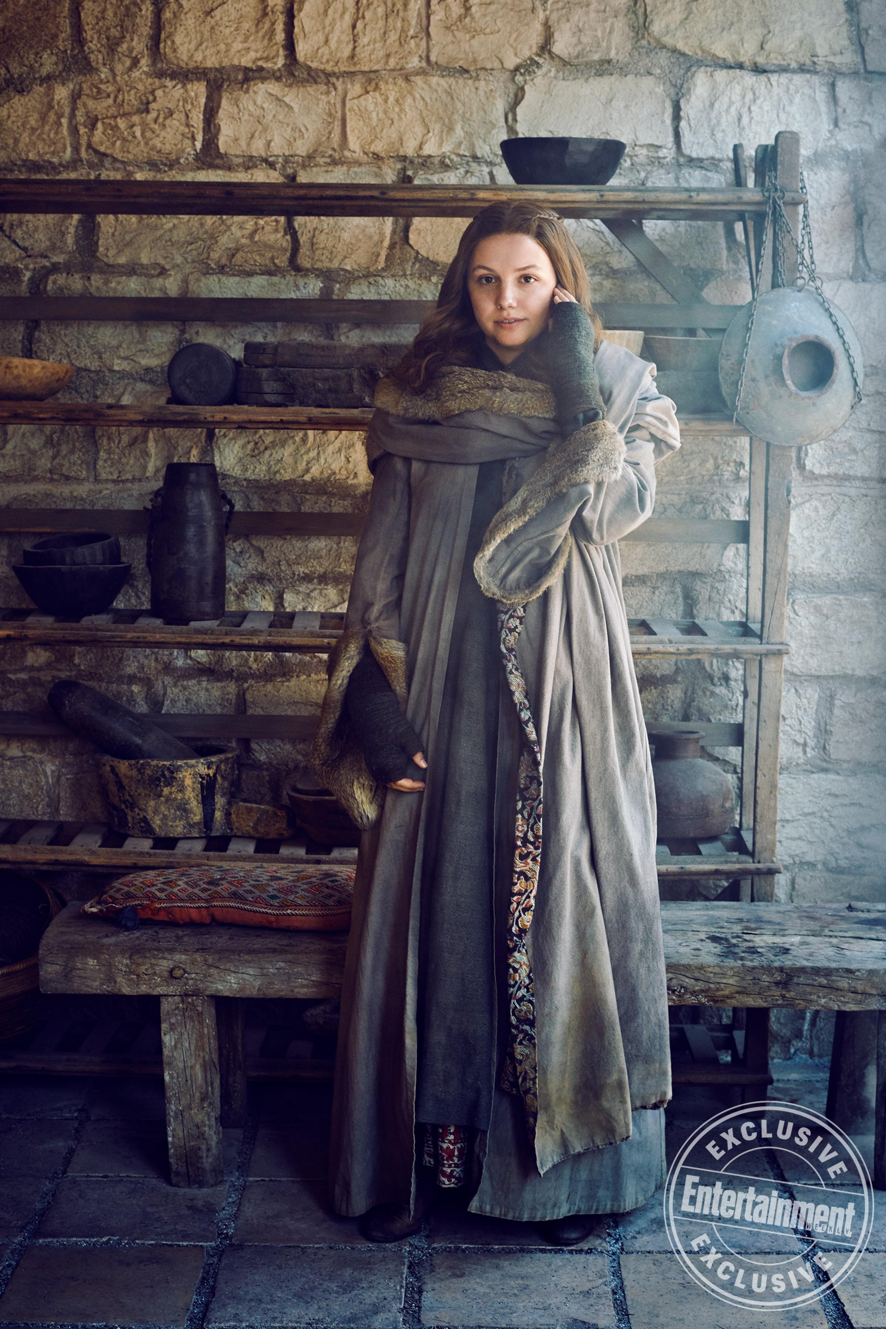 Entertainment Weekly Photoshoot - 2019 - Hannah Murray as Gilly
