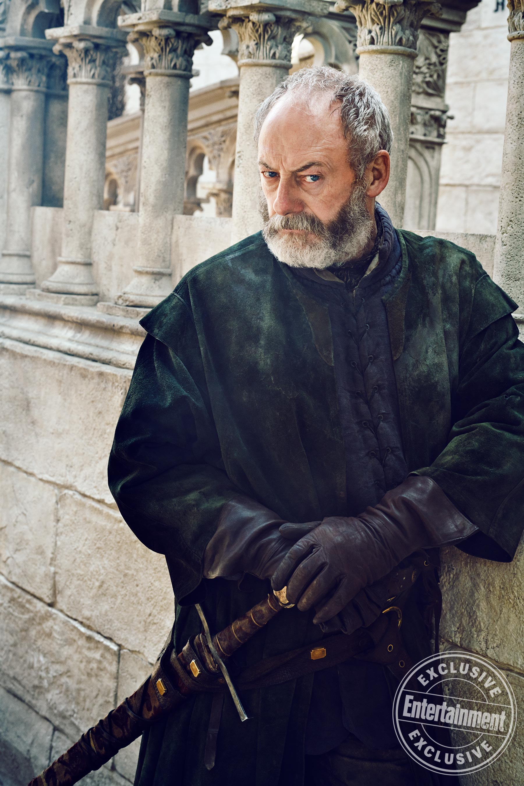 Entertainment Weekly Photoshoot - 2019 - Liam Cunningham as Davos Seaworth