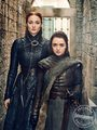 Entertainment Weekly Photoshoot - 2019 - Sophie Turner as Sansa and Maisie Williams as Arya Stark - game-of-thrones photo