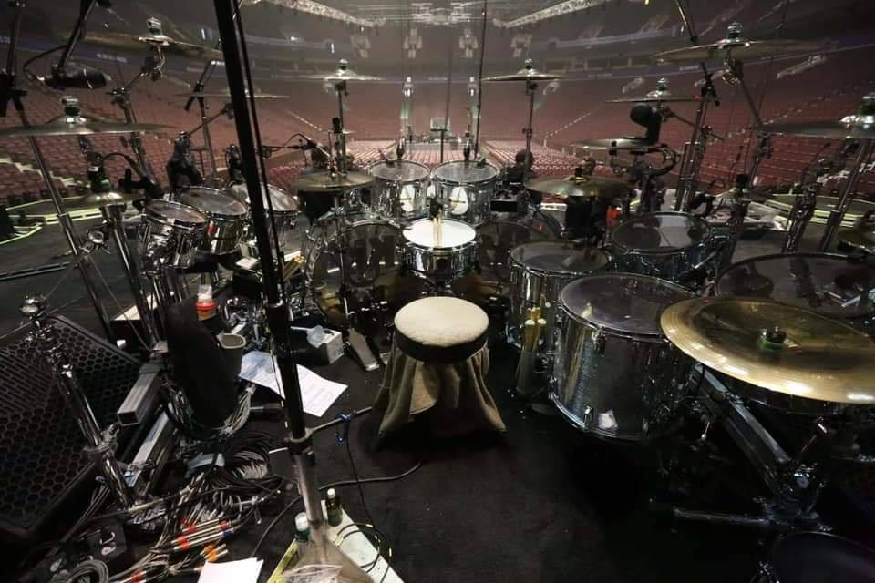 Eric Singer ~End of the Road tour drums