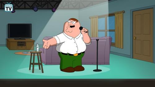 "fox Kartun kertas dinding titled Family Guy ~ 17x05 ""Regarding Carter"""