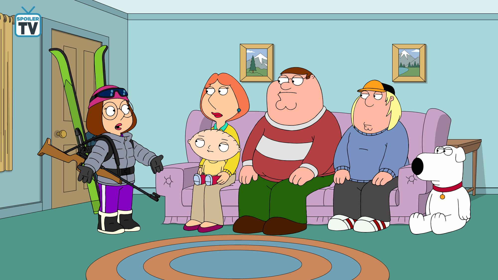 family guy the griffin winter games