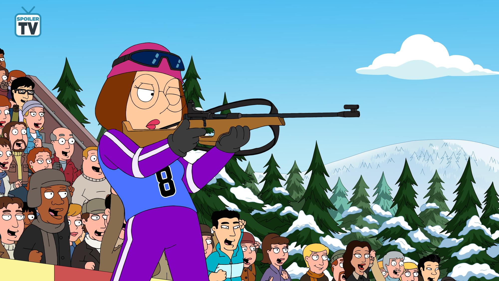 """Family Guy ~ 17x07 """"The Griffin Winter Games"""""""