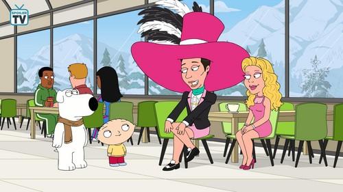 "لومڑی Cartoons پیپر وال titled Family Guy ~ 17x07 ""The Griffin Winter Games"""