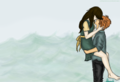 Finnick/Annie Fanart - Indivisible - finnick-and-annie fan art