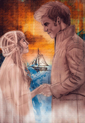 Finnick/Annie Fanart - Never Let Me Go