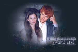 Finnick/Annie Обои - The звезда Crossed Влюбленные Of District 4