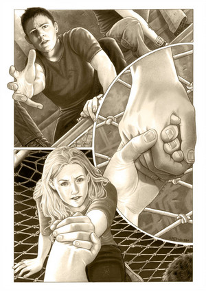 Four/Tris Fanart - First Touch Of आग