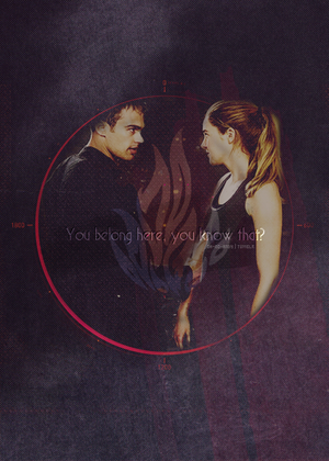 Four/Tris Fanart - wewe Belong Here, wewe Know That?