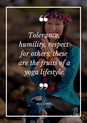 Fruits of Yoga