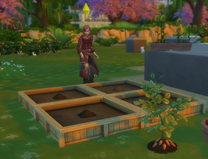 Gaara watering his plants