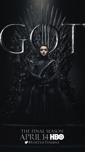Game of Thrones - Season 8 Character Poster - Arya Stark