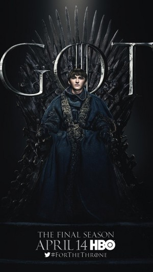 Game of Thrones - Season 8 Character Poster - Bran Stark