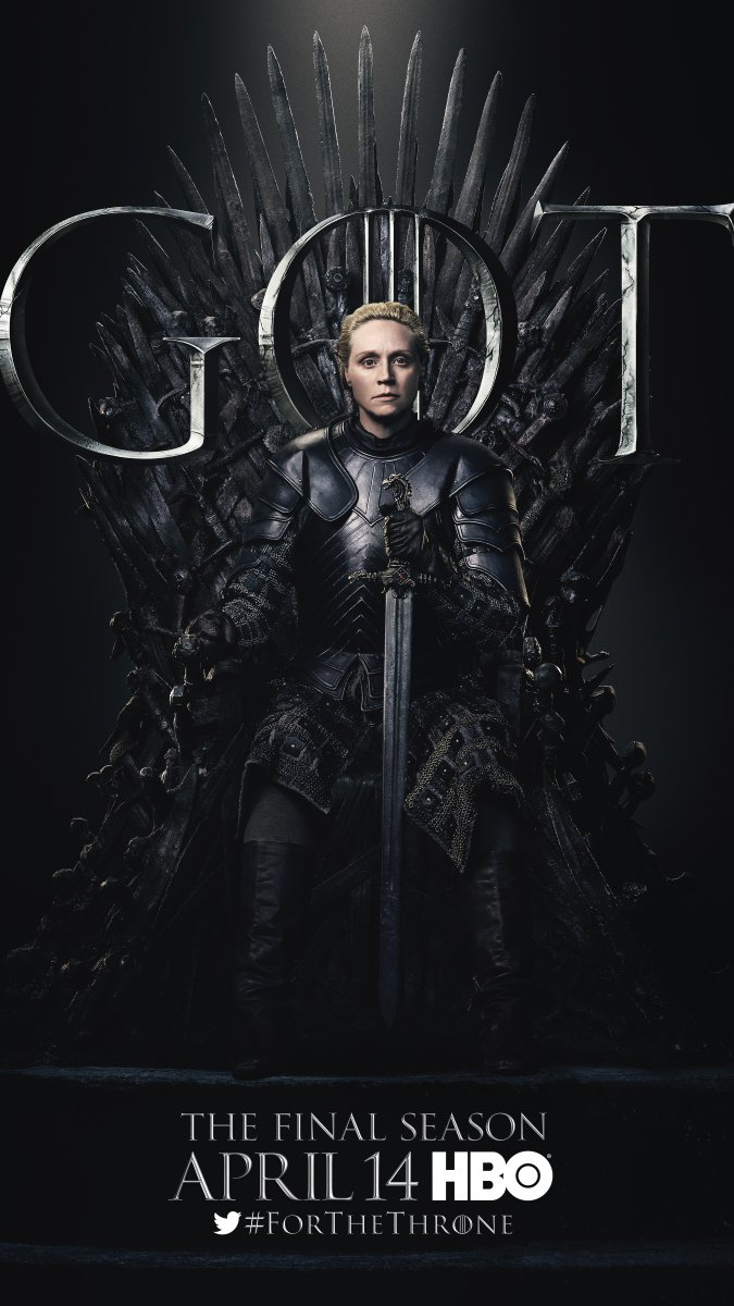 Game of Thrones - Season 8 Character Poster - Brienne of Tarth