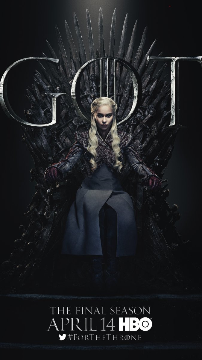 Game of Thrones - Season 8 Character Poster - Daenerys Targaryen