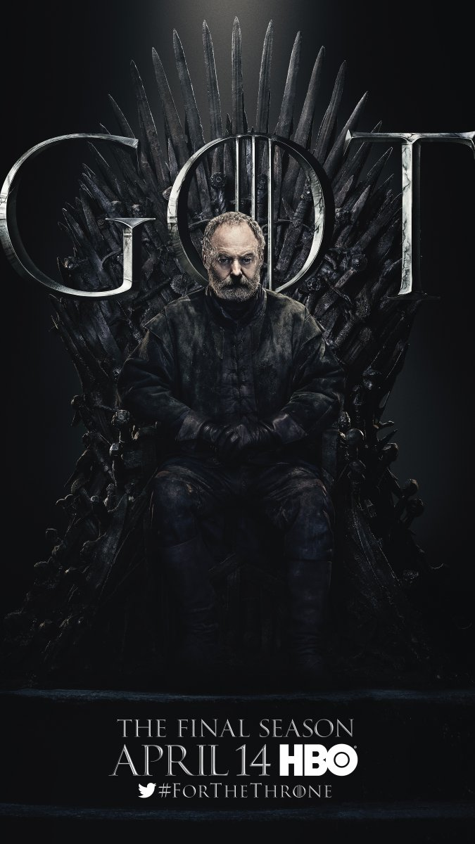 Game of Thrones - Season 8 Character Poster - Davos Seaworth