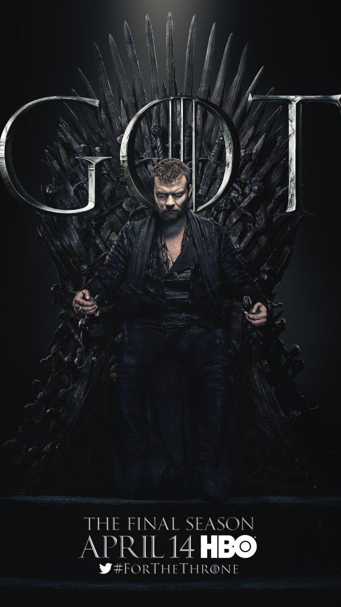 Game of Thrones - Season 8 Character Poster - Euron Greyjoy