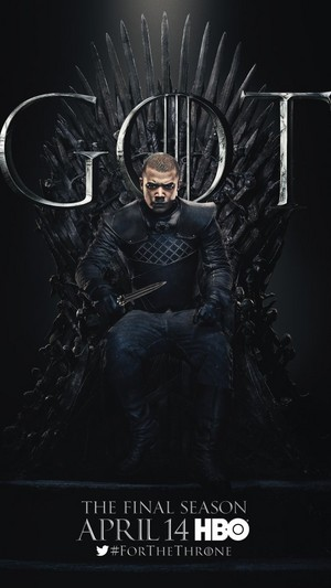 Game of Thrones - Season 8 Character Poster - Grey Worm