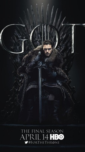 Game of Thrones - Season 8 Character Poster - Jon Snow