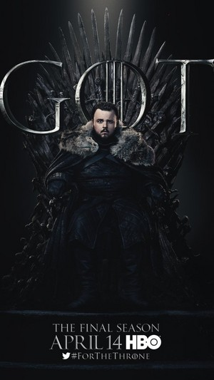 Game of Thrones - Season 8 Character Poster - Samwell Tarly