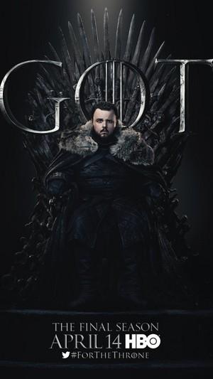 Game of Thrones - Season 8 Character Poster - Samwell Tarly