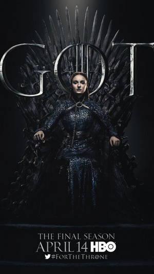 Game of Thrones - Season 8 Character Poster - Sansa Stark
