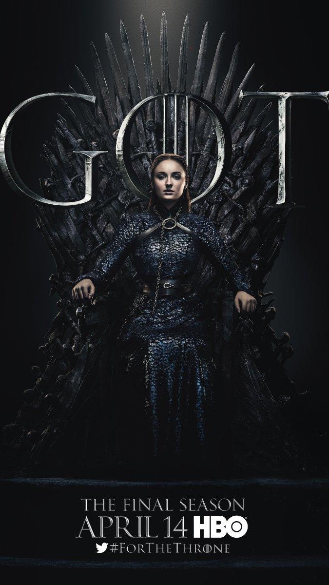 Game of Thrones - Season 8 Character Poster - Sansa Stark