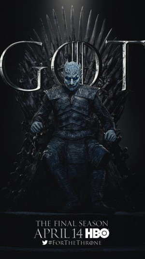 Game of Thrones - Season 8 Character Poster - The Night King
