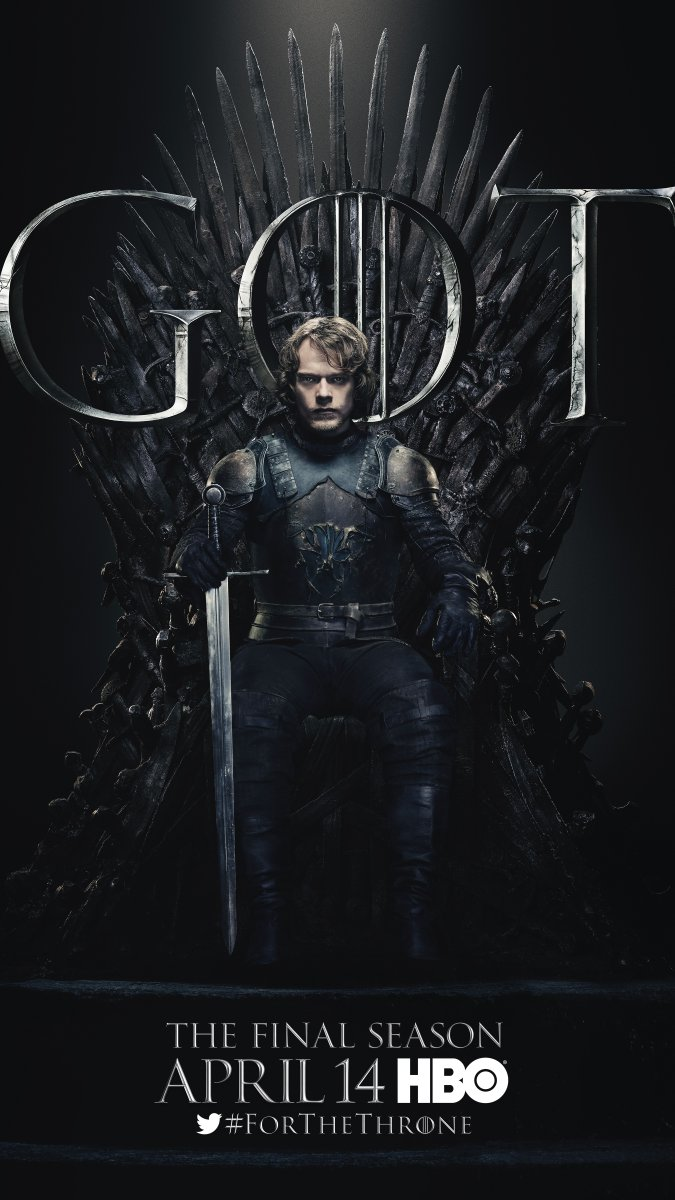 Theon Greyjoy Images Game Of Thrones Season 8 Character Poster