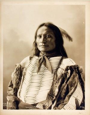 Goes to war (Zuya Ile) Brule Lakota at Omaha, Nebraska (1898)