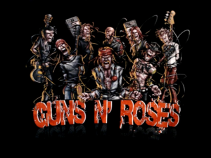 súng n' hoa hồng