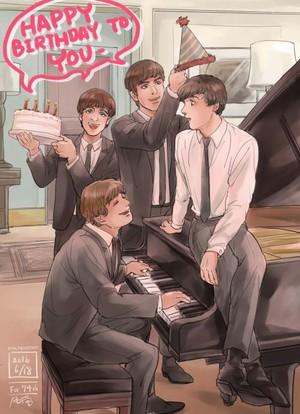 Happy Beatles Birthday, Antonia! 🎂🎈