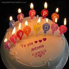 Happy Birthday Antonia Cake