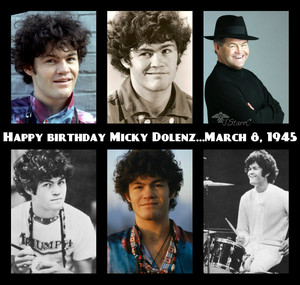 Happy Birthday Micky Dolenz...March 8, 1945 (George Michael Dolenz)